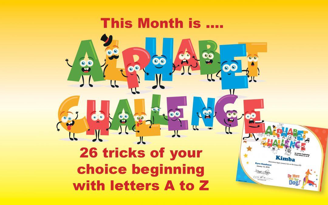 The Alphabet Challenge